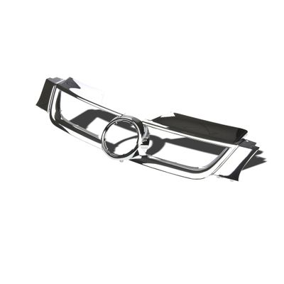 06-09 Volkswagen Golf / Rabbit / GTI MK5 Front Bumper ABS Mesh Grill / Grille - Chrome