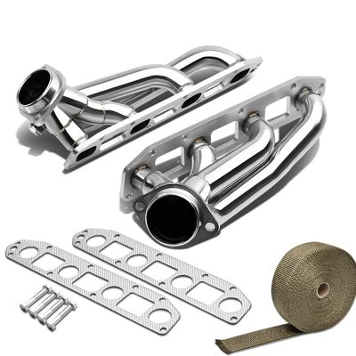 06-09 Chrysler 300 / Magnum / Charger Hemi V8 SS Stainless Racing Bolt-On Manifold Header Exhaust + Heat Wrap