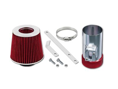 06-09 Ford Fusion 3.0L V6 SE SEL / 04-11 Crown Victoria/Grand Marquis 4.6L V8 Short Ram Air Intake Kit - Red