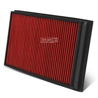 06-09 Land Rover Range Rover 4.2L / 4.4L Reusable & Washable Replacement High Flow Drop-in Air Filter (Red)