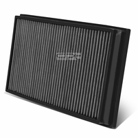 06-09 Land Rover Range Rover 4.2L / 4.4L Reusable & Washable Replacement High Flow Drop-in Air Filter (Silver)