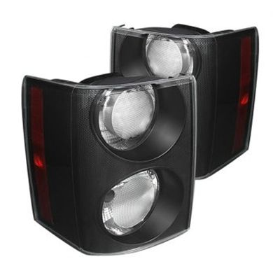 06-09 Land Rover Range Rover Euro Style Tail Lights - Red Clear