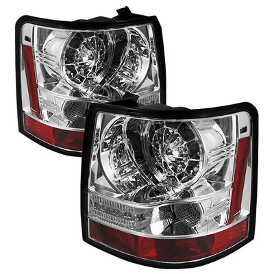 06-09 Land Rover Range Rover Sport LED Tail Lights - Chrome ALT-YD-LRRRS06-LED-C By Spyder