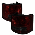 06-09 Land Rover Range Rover Sport LED Tail Lights - Red / Smoked ALT-YD-LRRRS06-LED-RS By Spyder