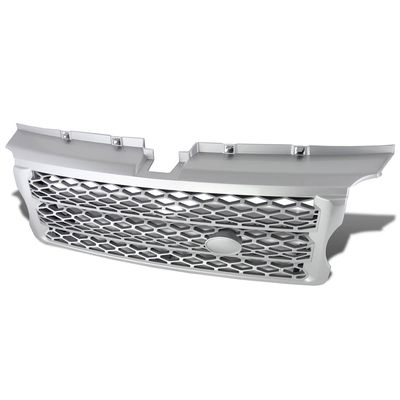 06-09 Range Rover Honeycomb Front Bumper Mesh Sport Grill - Silver