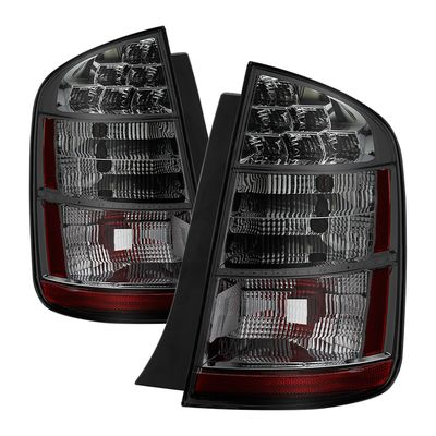 06-09 Toyota Prius OEM Style Tail Lights -Red Smoked