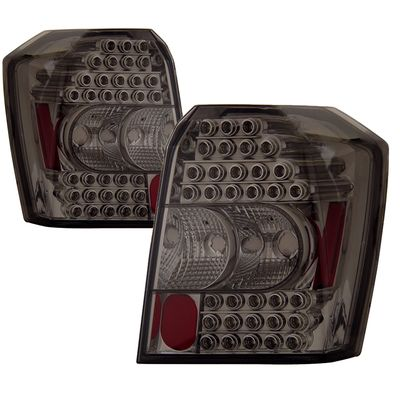 06-10 Dodge Caliber Euro Style LED Tail Lights - Smoked