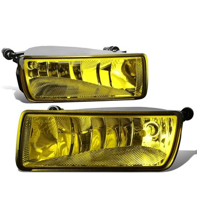 06-10 Ford Explorer / Mercury Mountaineer Pair of Bumper Driving Fog Lights (Amber Lens)
