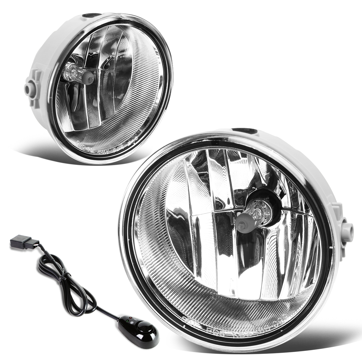 06 08 Mark Lt Crystal Lens Oe Bumper Fog Lights