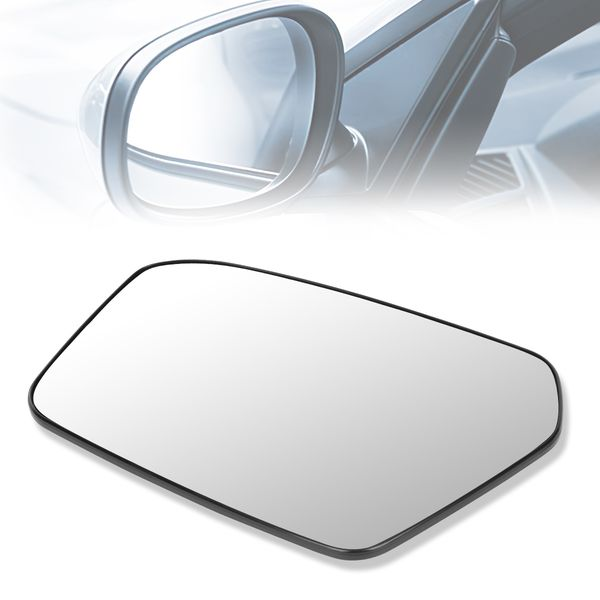 06-10 Ford Fusion Milan OE Style LH Left Side Door Mirror Glass Lens
