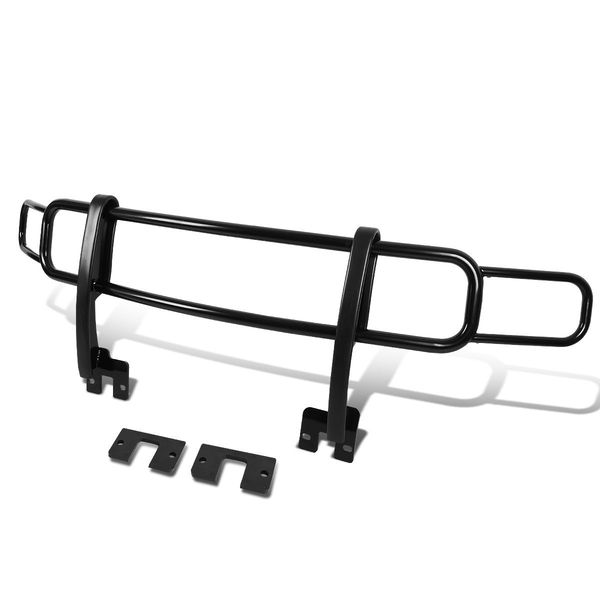 06-10 Hummer H3 / H3T OE Style Front Bumper Brush Bull Bar Grille Guard - Black