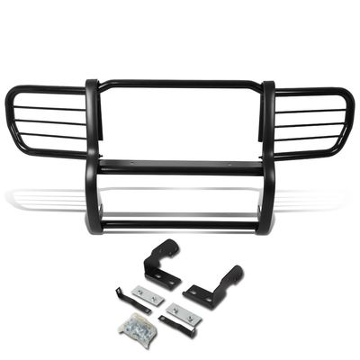 06-10 Jeep Commander XK Front Bumper Protector Brush Grille Guard (Black)