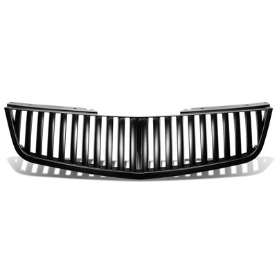 06-11 Cadillac DTS Vertical Style Front Bumper Hood Grill - Black