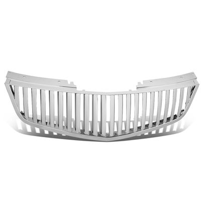 06-11 Cadillac DTS Vertical Style Front Bumper Hood Grill - Chrome