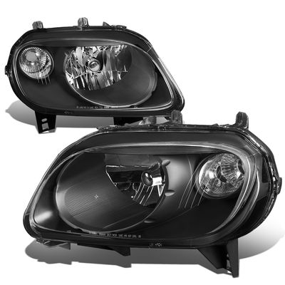 06-11 Chevy HHR  Headlight Assembly (Driver & Passenger Side) - Black / Clear