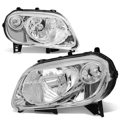 06-11 Chevy HHR  Headlight Assembly (Driver & Passenger Side) - Chrome / Clear