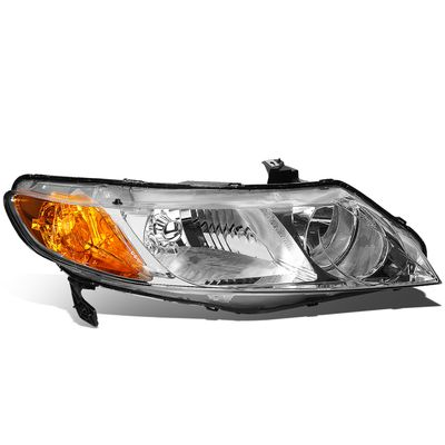 06-11 Honda Civic Sedan Right OE Style Headlight lamp Replacement HO2521110