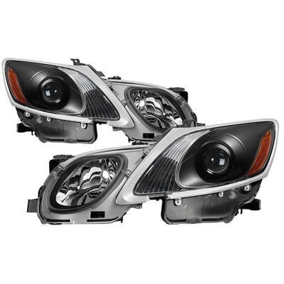 06-11 Lexus GS OE Projector Headlights (Model w/AFS & Factorty HID] Headlights - Black