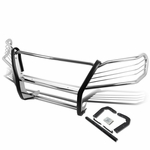 06-11 Mercedes-Benz W164 M-Class Front Bumper Protector Brush Grille Guard (Chrome)