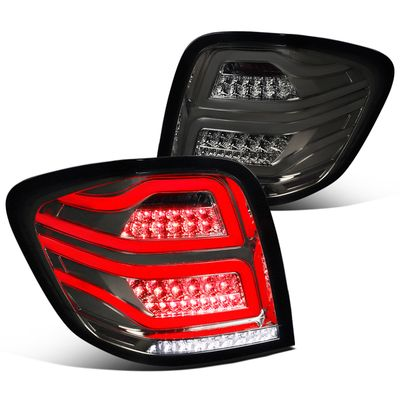 06-11 Mercedes Benz W164 ML-Class Smoked Full LED Rear Tail Lights Brake Lamps