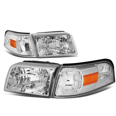 06-11 Mercury Grand Marquis Headlight Assembly (Driver & Passenger Side)