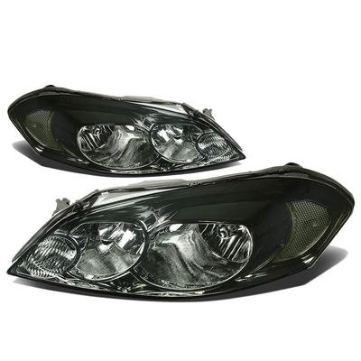 06-12 Chevy Impala / 06-07 Monte Carlo Crystal Headlights (Clear Reflector) - Smoked