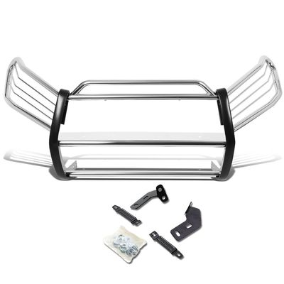 06-12 Toyota RAV4 XA30 Front Bumper Protector Brush Grille Guard (Chrome)