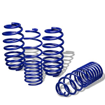 "06-12 VW Golf Rabbit 1.25"" Drop Suspension Lowering Springs - Blue"