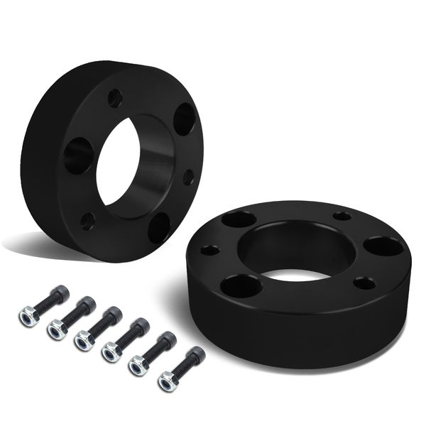 "06-18 Dodge RAM 1500 Black 2.5"" Front Spacer Strut Top Mount Leveling Lift Kit"