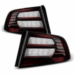 07-08 Acura TL [Also Fit  MY04-05] [Non-Type S] OE Style Tail Lights Pair - Smoked