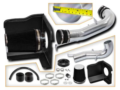 07-08 Chevy Silverado / Suburban / Tahoe 4.8L 5.3L / 6.0L V8 Heat Shield Air Intake - Black