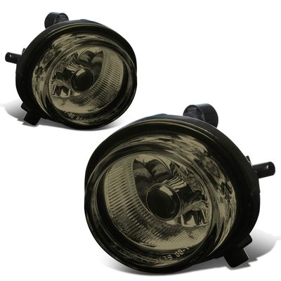 07-09 Mazda CX-7 Pair of Bumper Driving Fog Lights (Smoked Lens)