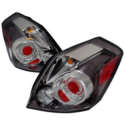 07-09 Nissan Altima Euro Style LED Tail Lights By Depo - Chrome
