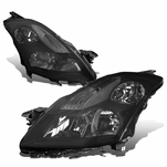 07-09 Nissan Altima Sedan Factory Style Replacement Headlights - Smoked Lens / Clear