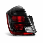 07-09 Nissan Sentra [SE-R Only] OEM Style Replacement Black Tail Lights - Driver Side
