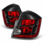 07-09 Nissan Sentra [SE-R Only] OEM Style Replacement Black Tail Lights - Pair
