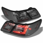 07-09 Toyota Camry Euro Style LED Tail Lights - Smoked ALT-YD-TCAM07-LED-SM