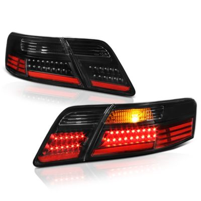 07-09 Toyota Camry Performance LED Tail Lights - Black
