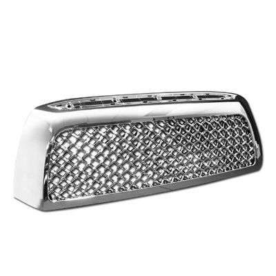 07-09 Toyota Tundra Bolt-on Mesh Front Bumper Grill / Grille Guard - Chrome