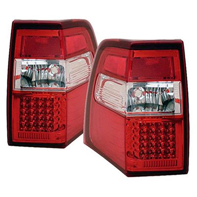 07-10 Ford Expedition Euro Style LED Tail Lights - Red