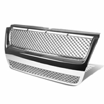 06-09 Ford Explorer XLS / 07-09 Sport Trac Z Grille (Chrome Coating) With Bentley Mesh - Chrome