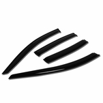 07-10 Hyundai Elantra UD 4pcs Window Vent Visor Deflector Rain Guard (Dark Smoke)