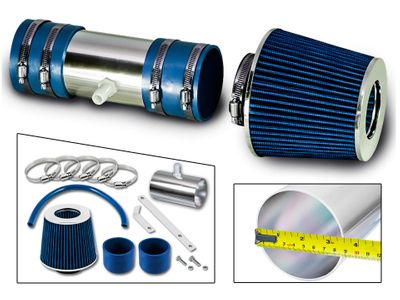 07-11 Buick Enclave 3.6L V6 DOHC Short Ram Air Intake Kit - Blue