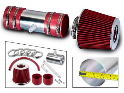 07-11 Buick Enclave 3.6L V6 DOHC Short Ram Air Intake Kit - Red