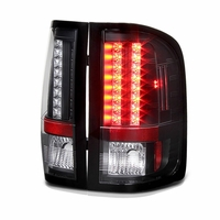2007-2013 Chevy Silverado Pickup LED Tail Lights - Black ALT-YD-CS07-LED-BK By Spyder