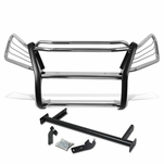 07-11 Honda CRV RE Front Bumper Protector Brush Grille Guard (Chrome)