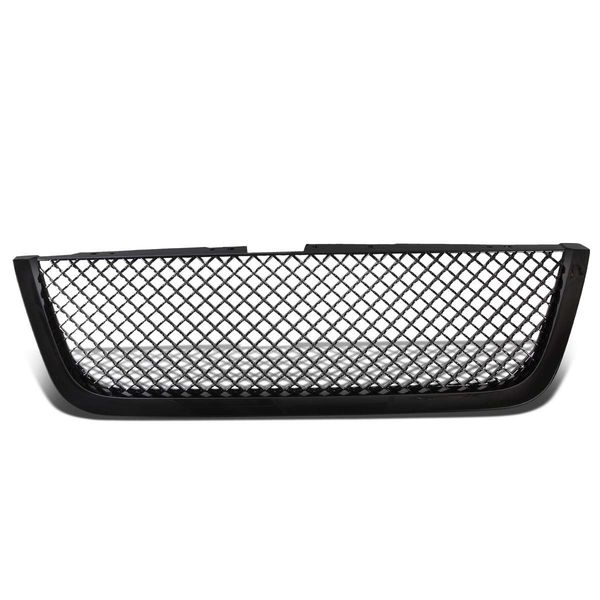 07-12  GMC Acadia Glossy Black ABS Mesh Style Front Bumper Grill