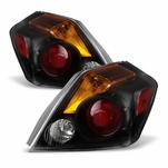 07-12 Nissan Altima 4DR Sedan OEM Style Replacement Tail Lights - Black