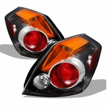 07-12 Nissan Altima 4DR Sedan OEM Style Replacement Tail Lights Pair