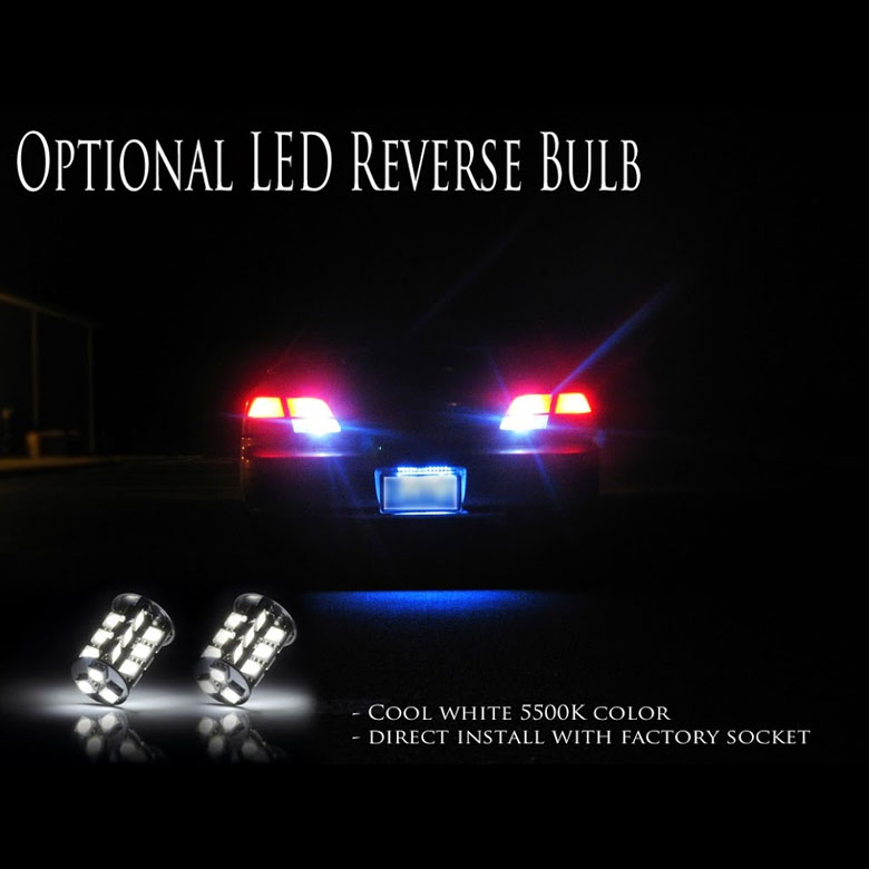 07-12 Toyota Tundra Euro Style Bright LED Tail Lights - Red